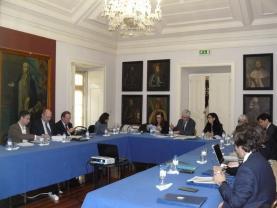 Centro Hospitalar do Oeste acolheu reunião de hospitais da ARSLVT com o Governo