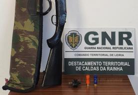 GNR deteve homem em flagrante por caça ilegal no concelho do Bombarral