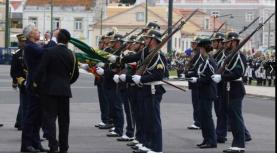 Comando Territorial de Lisboa da GNR recebeu a Medalha de Serviços Distintos de Segurança Pública
