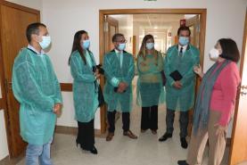 Deputados do PSD visitaram Complexo de Santa Bárbara no âmbito do Mês dos Cuidados Paliativos