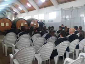 Alunos da ESCO fizeram visita de estudo à Adega Cooperativa da Lourinhã