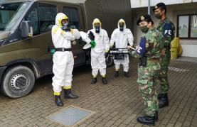 """Covid-19: Governo põe Forças Armadas em estado de """"prontidão"""""""