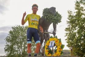 Troféu Joaquim Agostinho: Frederico Figueiredo ganha etapa e conquista a camisola amarela