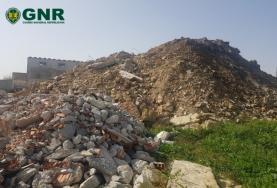 GNR registou na Serra D'El Rei armazenagem ilegal de resíduos de construção e demolição