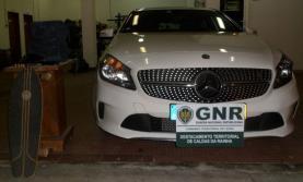 GNR deteve mulher no concelho de Peniche suspeita de vários furtos