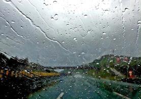 Região Oeste sob aviso amarelo na quinta-feira devido à chuva