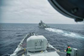Marinha realizou exercícios militares ao largo da costa Oeste