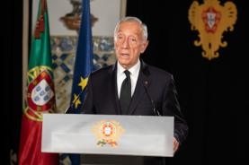 Covid-19: Presidente da República fala ao país hoje às 20h00 sobre novo Estado de Emergência