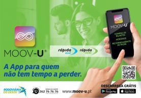 Rodoviária do Oeste lança aplicação 'Moov-u' para 'smartphones'