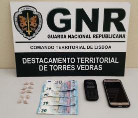 Lourinhã: homem fica em prisão preventiva por tráfico de estupefacientes