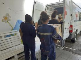 Iniciativa 'Cabazes Solidários ESCO': instituição angariou produtos e doou 15 cabazes de Natal à comunidade mais carenciada