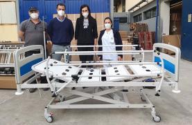 Centro Hospitalar do Oeste recebeu 14 camas elétricas da iniciativa 'Aconchegar'