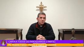 COVID-19: Padres Ricardo Franco, Paolo Ciampoli e Manuel Charumbo falam aos paroquianos através de canal no Youtube
