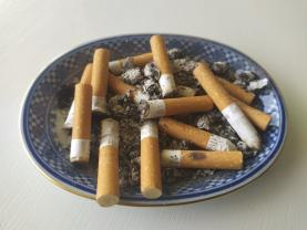 Parlamento aprova multas para quem deite pontas de cigarro para a via pública