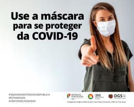 Covid-19: Parlamento renova até meio de Junho obrigação de usar máscaras na rua