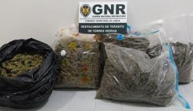 Torres Vedras: detido homem na A8 com 18 quilos de cannabis