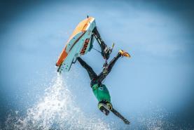 Campeonato do Mundo e da Europa de Freeride na Praia da Areia Branca