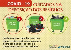 COVID-19: novas regras na deposição dos resíduos sólidos urbanos