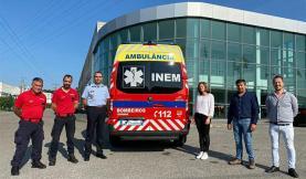 Bombeiros Voluntários da Lourinhã têm nova ambulância de socorro do INEM
