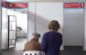 Covid-19: Centro de Vacinação do SNS abriu hoje no pavilhão da Casa do Povo da Lourinhã