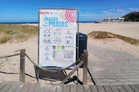 Município da Lourinhã alerta que não há vigilância nas praias porque a época balnear chegou ao fim
