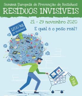 Semana Europeia da Prevenção de Resíduos: Valorsul apela à reflexão dos consumidores