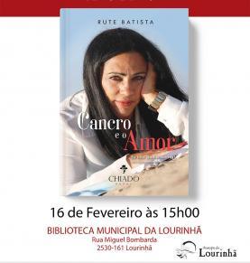 Lourinhanense Rute Batista lança publicamente o livro 'Cancro e o Amor'