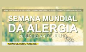 De 28 de Junho a 4 de Julho: SPAIC abre 'Consultório Online' na Semana Mundial da Alergia