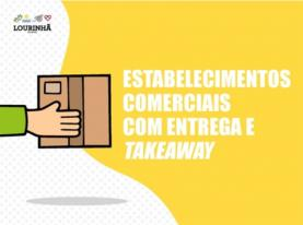 Covid-19: estabelecimentos com take-away e entrega ao domicílio no concelho da Lourinhã