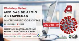 COVID-19: AIRO promove acção online a nível nacional para apoiar empresas