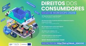 Direitos dos consumidores em ciclo de 'workshops online'